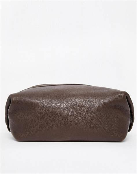 polo ralph polo ralph leather wash bag
