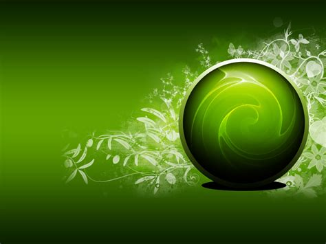 Green Colour 3d Wallpaper by Backgrounds Hd Wallpapers