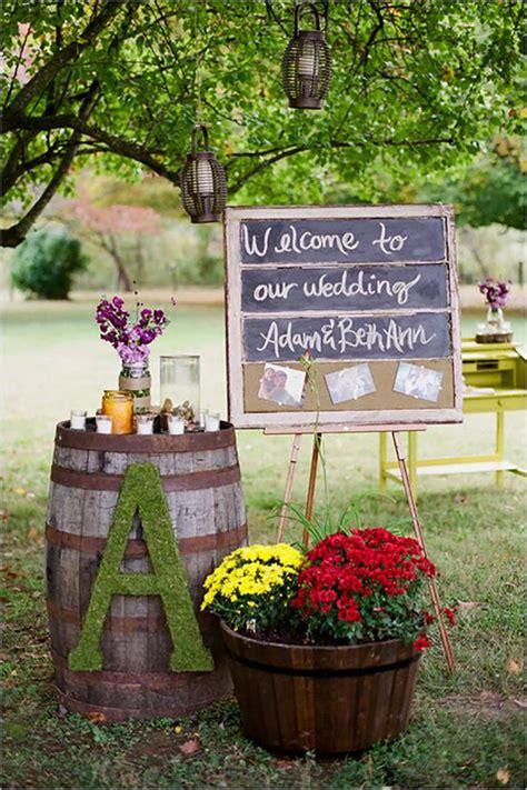 sweet ideas  intimate backyard outdoor weddings