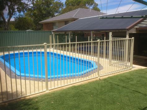 pools with fences pictures tubular pool fences adelaide balustrade fencing