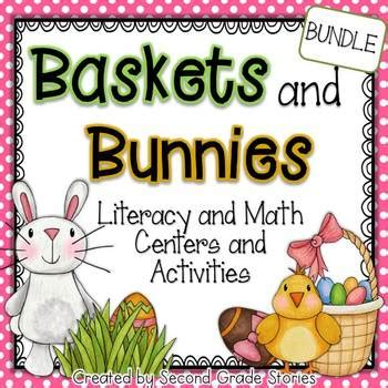 easter math and language arts activities by second grade