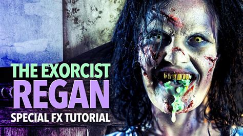 The Exorcist Sfx Makeup Tutorial Youtube