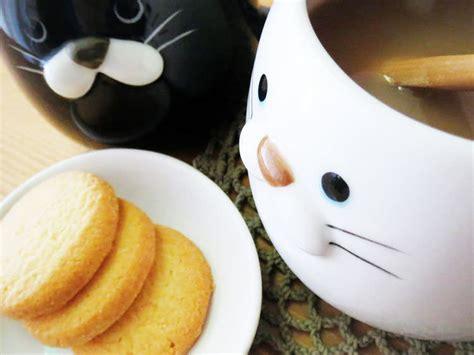 cuisine importé du portugal noir mug neko kawaii bouille de noir rond