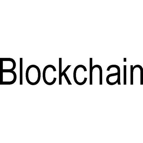 blockchain trademark serial number  justia