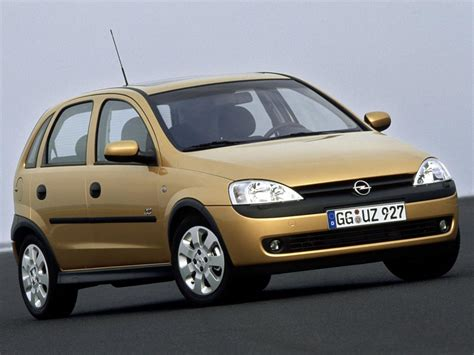 Opel Corsa C by Opel Corsa Technical Specifications And Fuel Economy