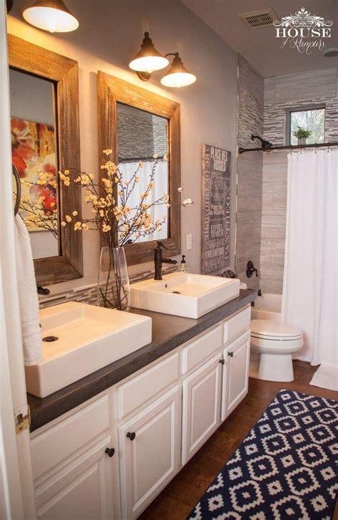 farmhouse bathroom design  decor ideas