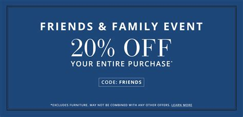 pottery barn  friends family event