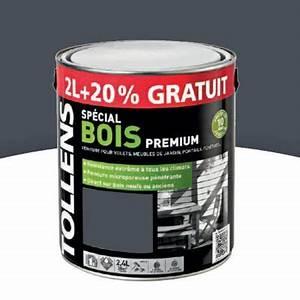 Castorama Peinture Exterieure : peinture bois ext rieure gris anthracite satin 2l 20 ~ Premium-room.com Idées de Décoration