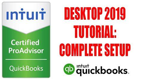 quickbooks desktop  tutorial complete setup   minutes  certified proadvisor youtube