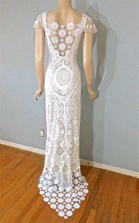 Crochet Wedding Dress Pattern Images   Wedding Dress, Decoration And Refrence
