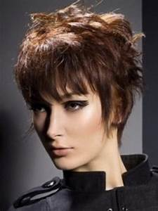 Layered Short Hairstyles For Older Women