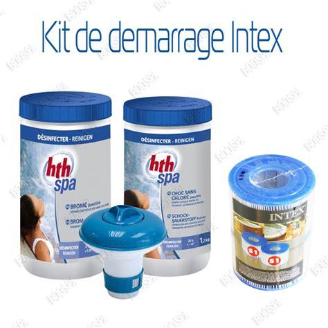 entretien spa intex kit de demarrage pour spa gonflable intex boospa