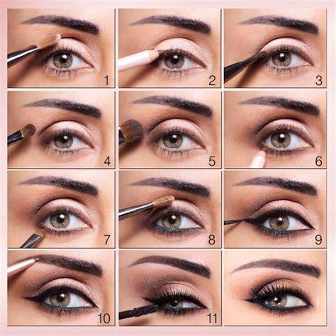 apply  eyeshadow step  step tutorial   apply eyeshadow applying eye makeup