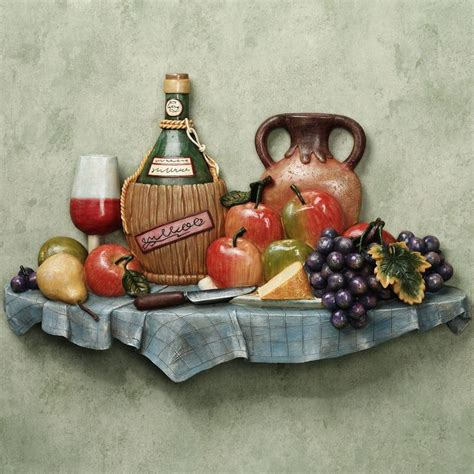 Italian Wall Decor For Kitchens - italian feast kitchen wall plaque home gt walls wall