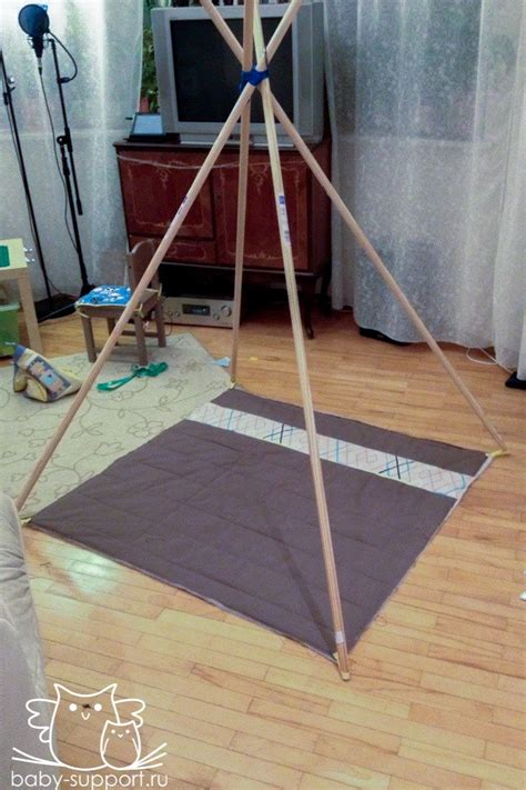 Tipi Kinderzimmer Diy by Diy Teepee Tent Diy Kinder N 228 Hen F 252 R