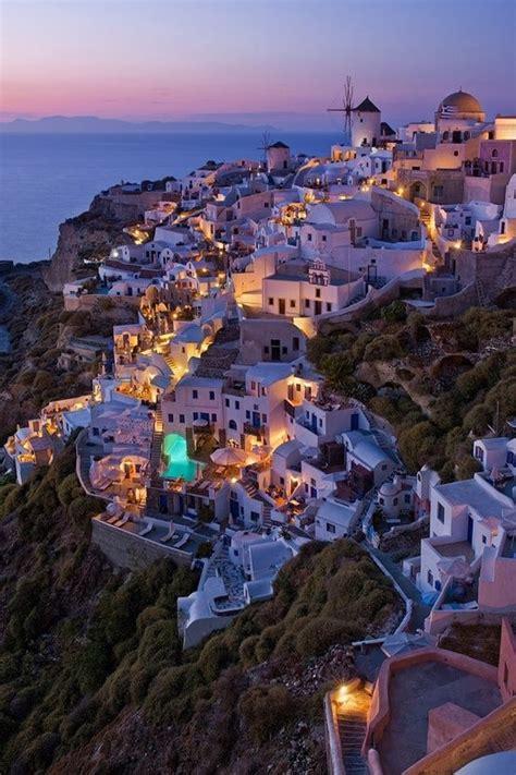 santorini greece     beautiful places