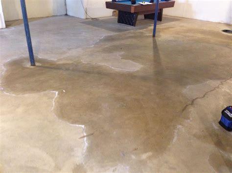 how to repair crumbling concrete garage floor woods basement systems inc basement waterproofing