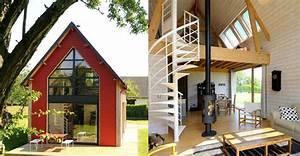 Une Petite Maison D39architecte En Bois Ct Maison