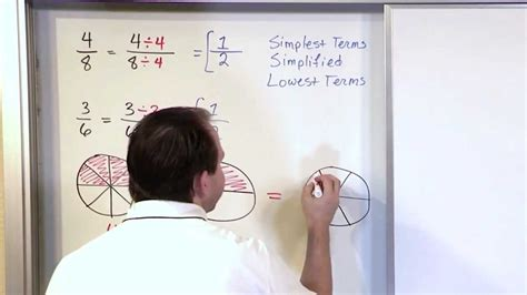 simplifying fractions part   grade math youtube