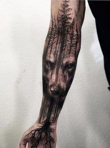 tatuajes  todo el brazo completo tribales en hombres