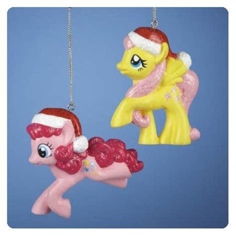 my little pony figural christmas ornament set kurt s