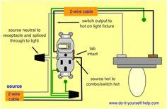 Wire Schematic Switch Schematic Combo Diagram Power To Constant by Wiring Diagram For Lights On One Switch Power