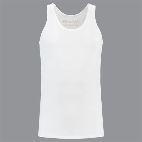 perfect white crew neck tanktop  men  shirtsofcotton