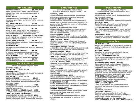 See more ideas about tap room, coffee shop menu, menu boards. Online Menu of Barleys Tap Room & Pizzeria, Spindale, NC
