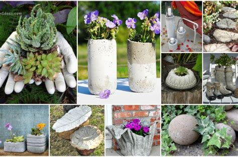 concrete garden decorations you can do in no time top