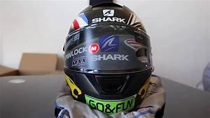 Casque Shark Speed R : unboxing casque shark speed r 2 carbon replica redding gofun helmet youtube ~ Melissatoandfro.com Idées de Décoration