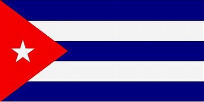 Drapeau Cuba Drapeaux Espagne Location Havane Couleurs