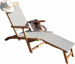 Bain De Soleil Bois : bain de soleil en bois et toile taupe ~ Teatrodelosmanantiales.com Idées de Décoration