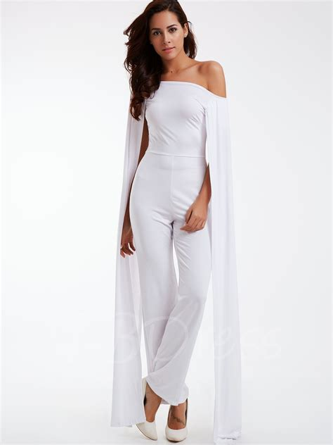 Boat Neck For Suit by White Boat Neck Wide Leg S Suit Boat Neck