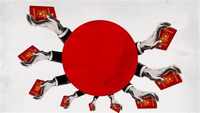 Japan Olympics Foreign Approach Workers Treating Indentured