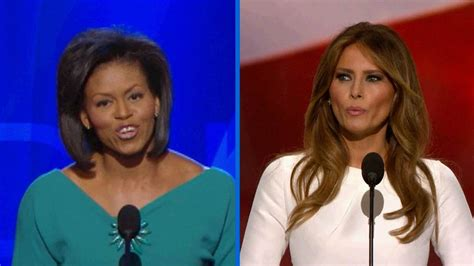 Did Melania Trump copy from Michelle Obama's speech? - Times of India