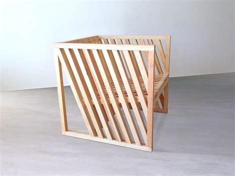 chair born  exploring  cube design milk