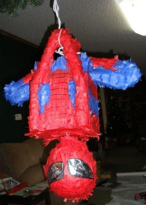 spiderman piniata  pinata decorating molding
