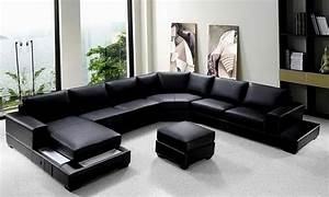 Large u shaped sectional sofa loccie better homes for Large scale sectional sofa
