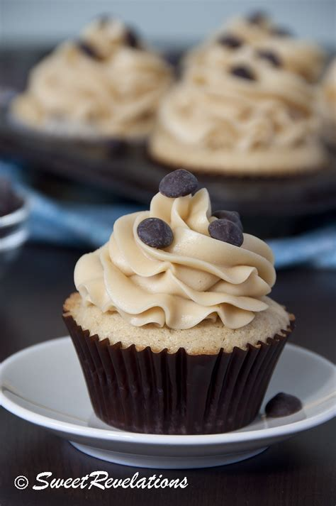 chocolate chip cookie dough cupcakes sweetrevelations