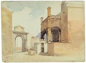 Santa Maria Della Catena Church In Palermo In 1843 By