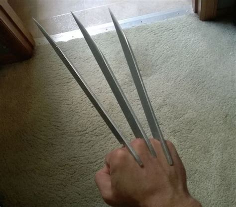 wolverine claws template the world s catalog of ideas