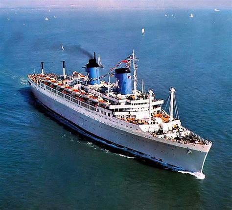 48 Best Images About 1939 - 1964 ... Ocean Liner America United States Line On Pinterest ...