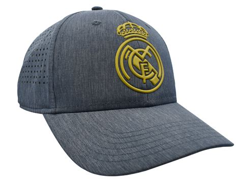 Real Madrid Crest Logo Cap - Grey – Real Madrid CF | EU Shop