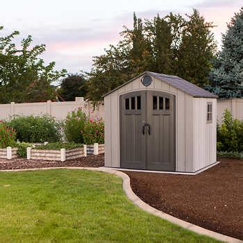resin shed costco outdoor storage sheds barns costco