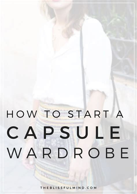 Capsule Wardrobe Planner by How To Start A Capsule Wardrobe Capsule Wardrobe