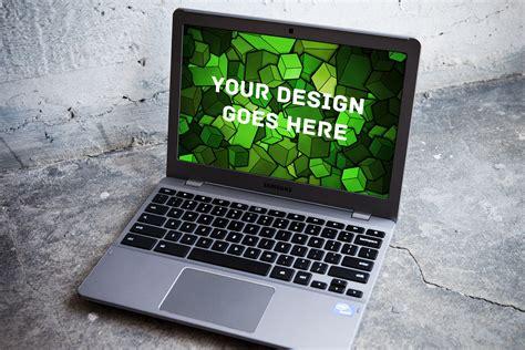 windows laptop display mock  product mockups