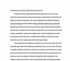 English Literature Essays Cyrano De Bergerac Essay Write My Paper Today Process Paper Essay also Essays With Thesis Statements Cyrano De Bergerac Essay Assignor And Assignee Cyrano De Bergerac  Essays About Science