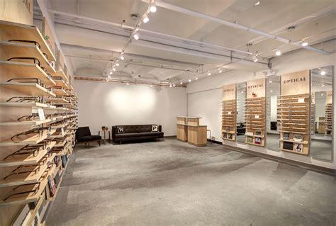 view goes inside warby eyewear in nyc