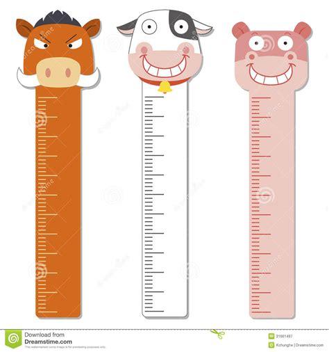 cute bumper children meter wall stock vector image