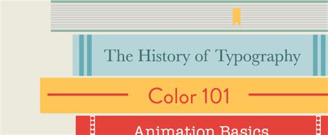 design skills library the history of typography video